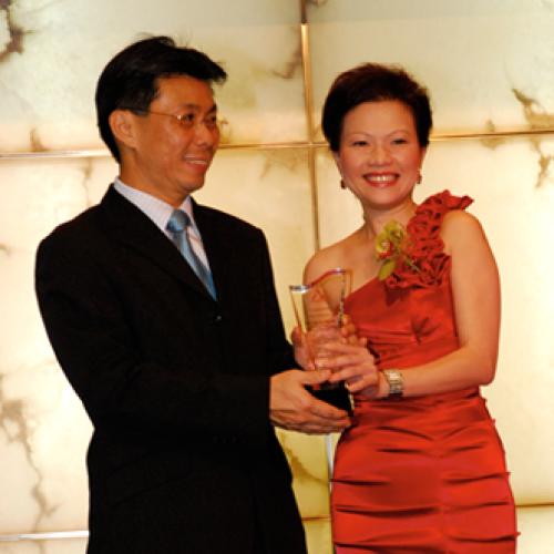 Minister Of State For Trade & Industry and Manpower- Mr Lee Yi Shyan at the annual dinner of the Association of Employment Agencies (Singapore) 2011